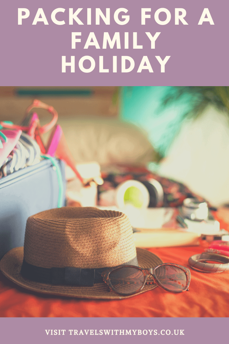 Packing For A Family Holiday Tips