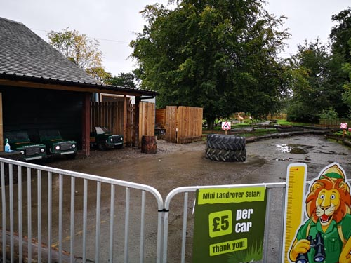 Attractions at Blair Drummond