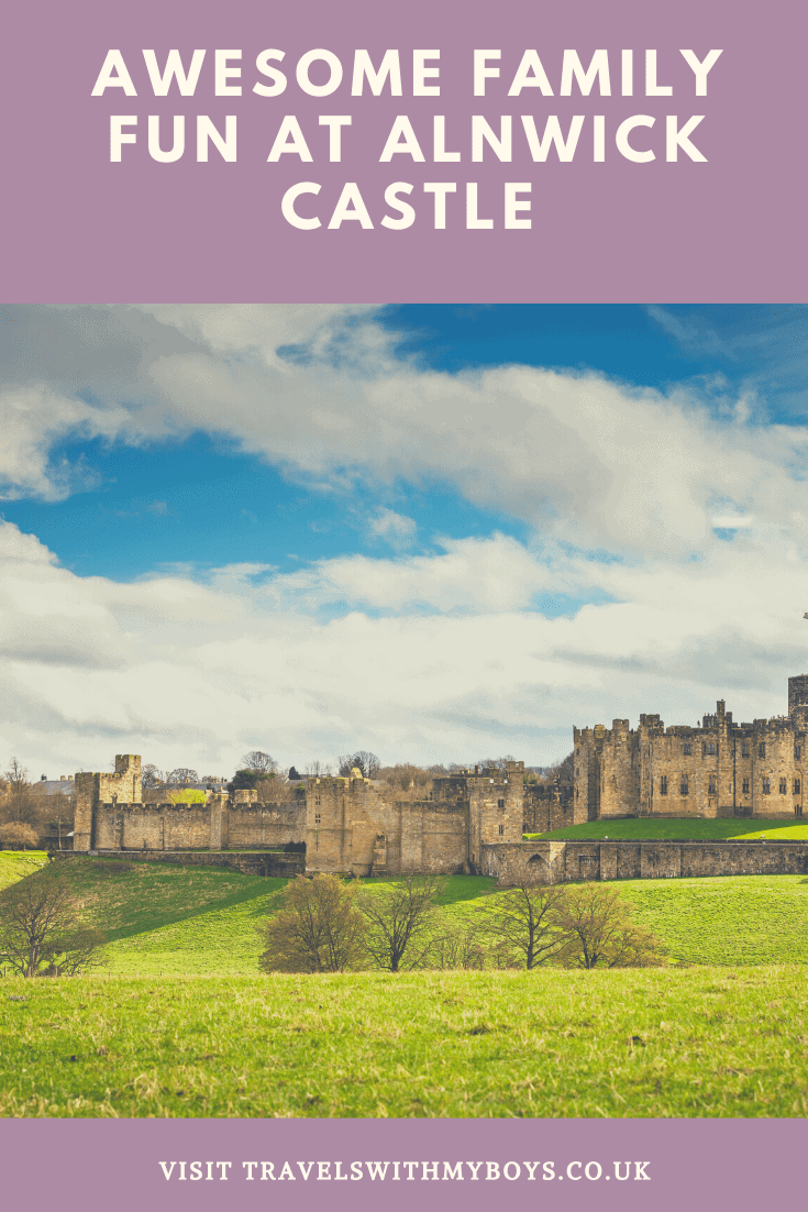 Family Day Out at Alnwick Castle