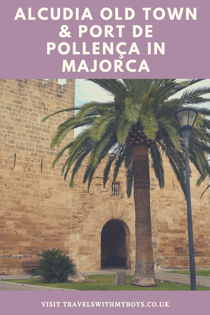 Alcudia Old Town in Majorca
