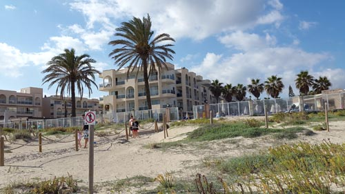 View of hotel in Alcudia Pins