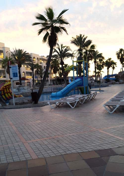 Pool Area in Alcudia Pins