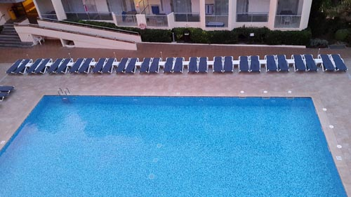 Pool in Alcudia Pins