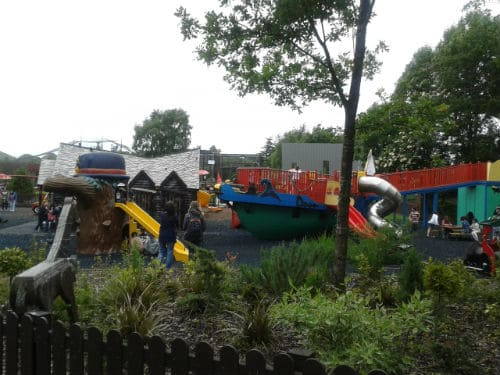 Play Park at Five Sisters Zoo