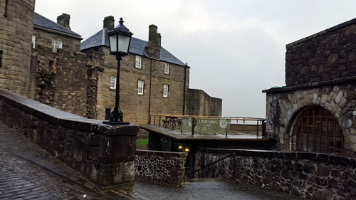 Cafe at Stirling Castle