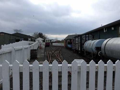 Trains at Almond Valley, Livingston