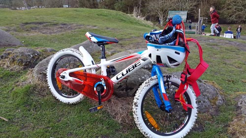 Bike at Beecraigs Country Park