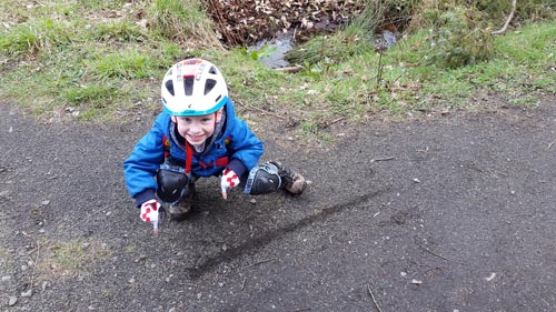 Bike Riding at Beecraigs Country Park