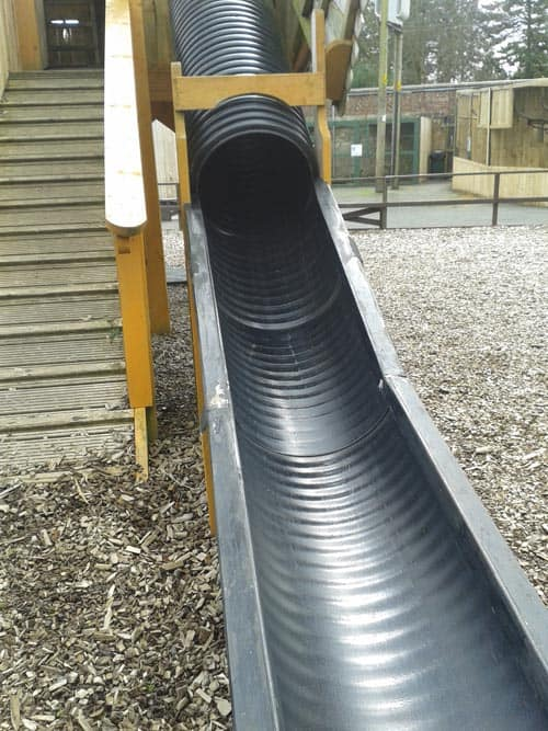 Slide at Scottish Owl Centre