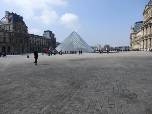 The Lourve, Paris