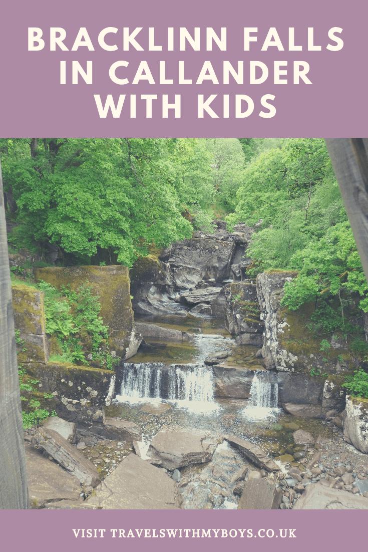 Great Walk With Kids At Bracklinn Falls Scotland