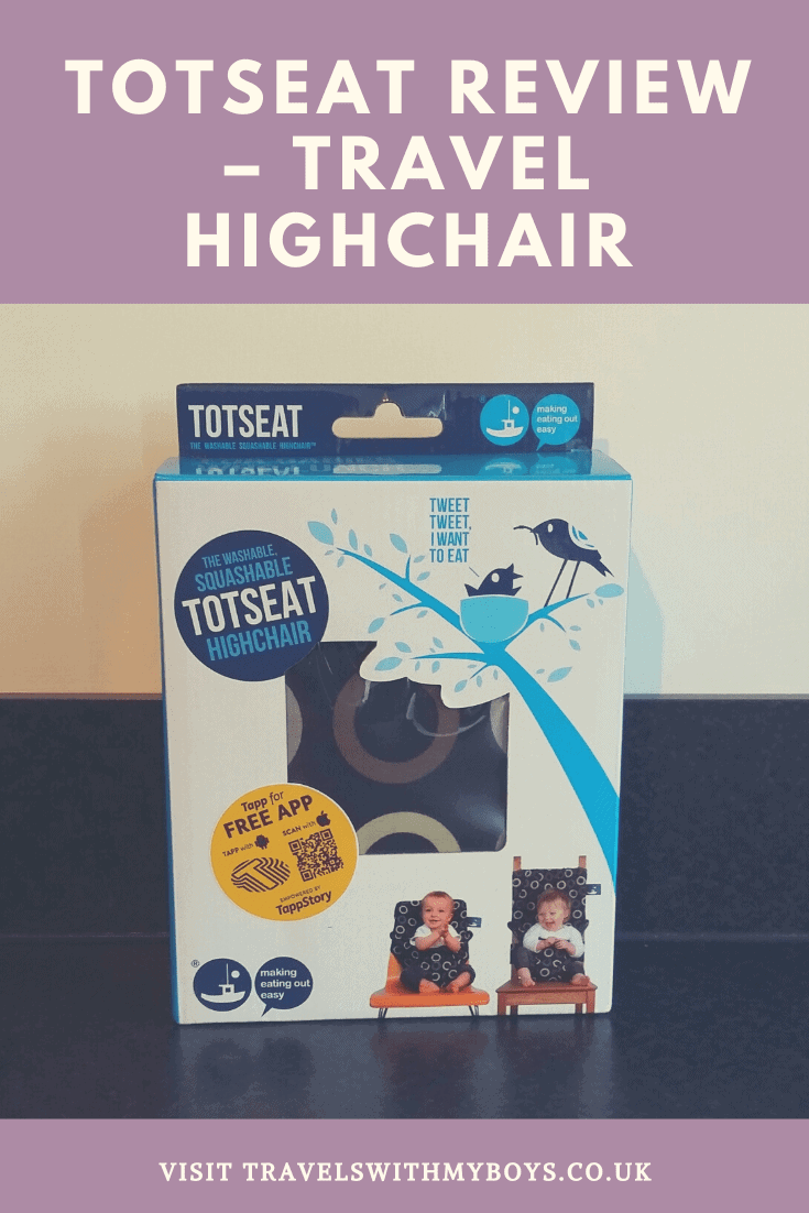 A Travel Highchair For Babies and Toddlers