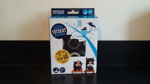 Totseat travel highchair