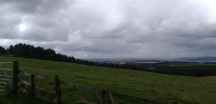 View over the borders