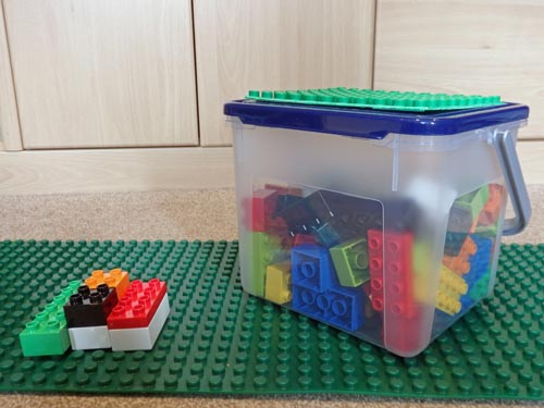 DIY Travel Duplo Box