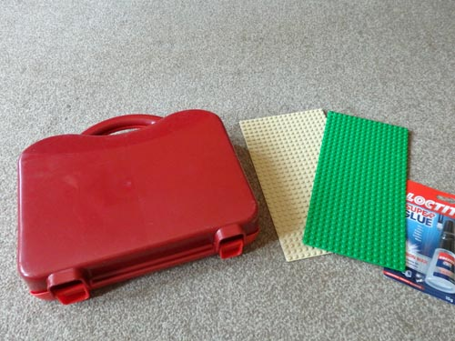 DIY Travel Lego Box