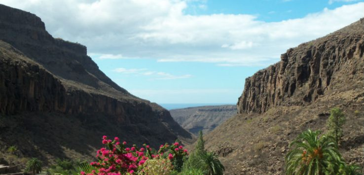 View over Gran Canaria