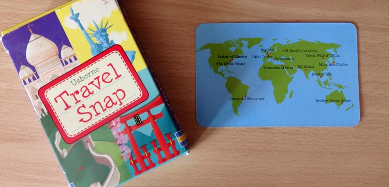 Travel Snap Game by Usborne