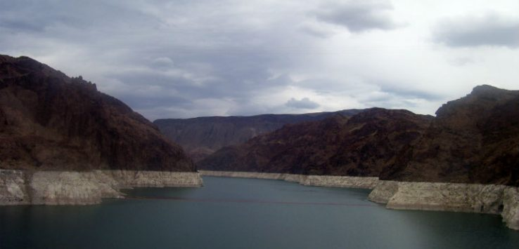 View off Hoover Dam