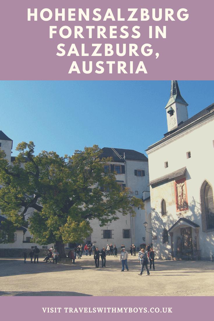 Visiting Hohensalzburg Fortress in Salzburg with Kids