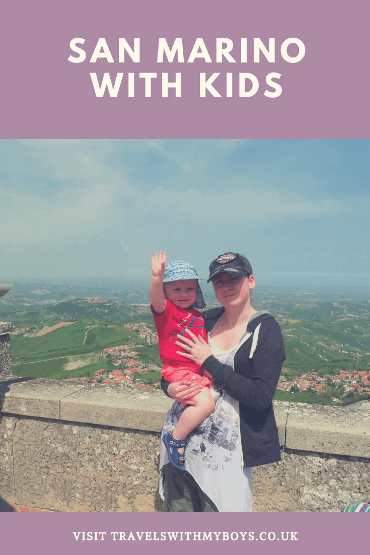 San Marino in Italy with Kids