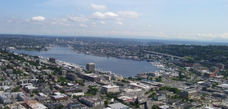 View over Seattle