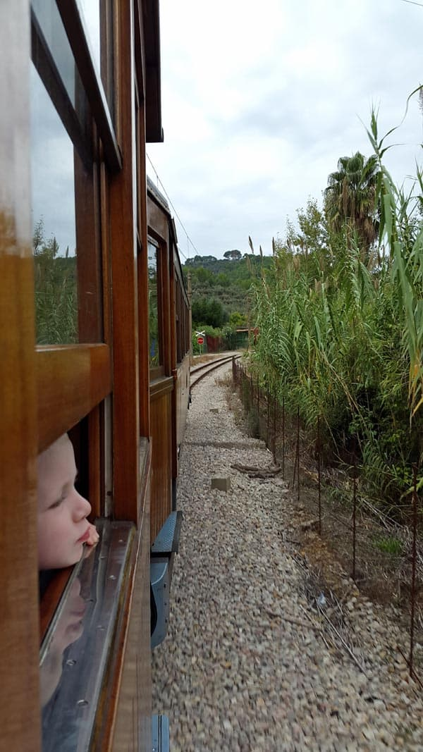 On the Soller Train