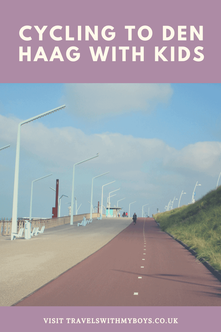 Cycling to Den Haag with kids
