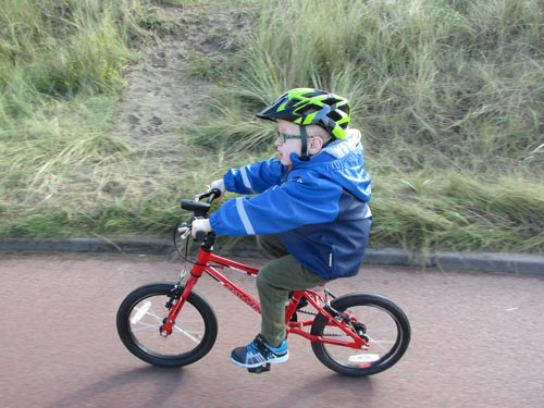 Young Child on a bike