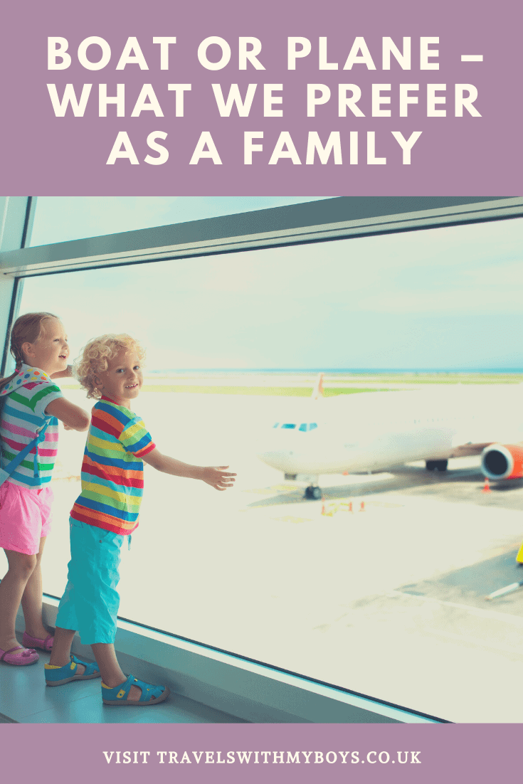 Travelling With Kids by Plane or Boat