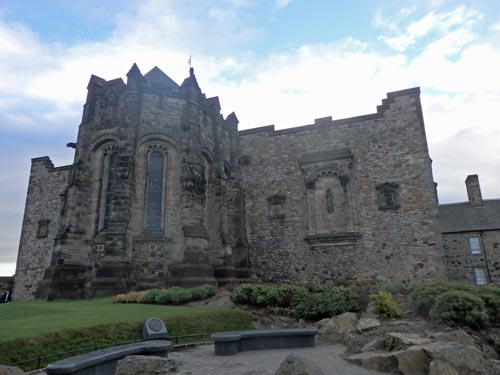 Church at Edinburgh Castle