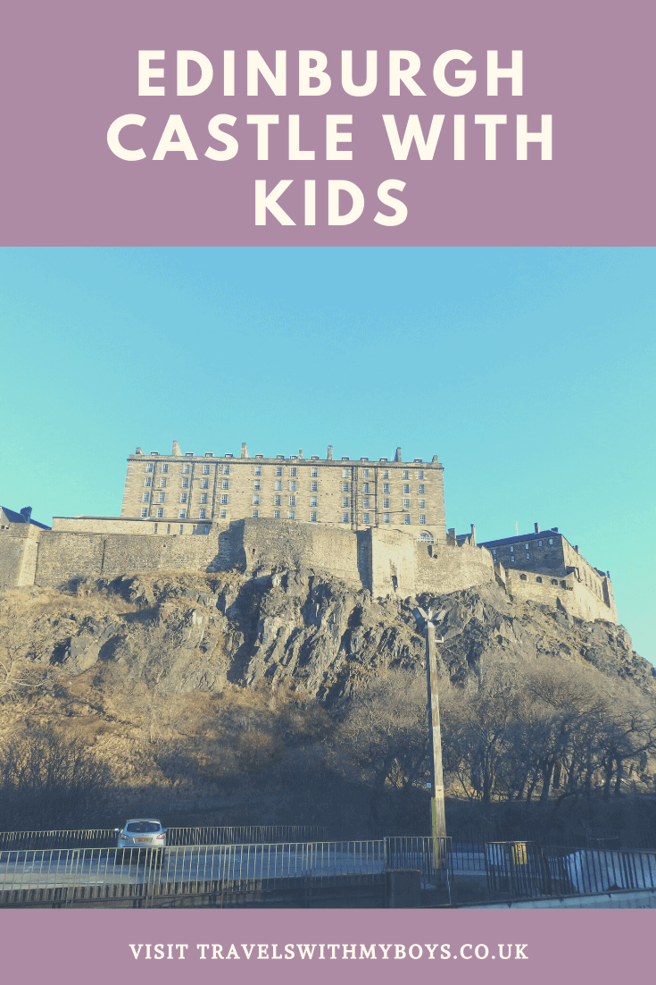 Exploring Edinburgh Castle With Kids