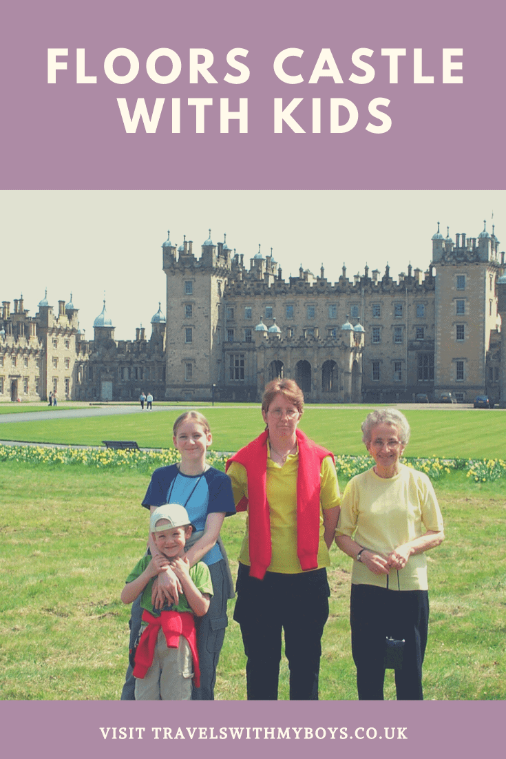 Visitng Floors Castle in Kelso with Kids