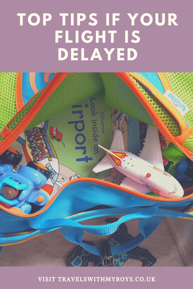 Top tips for flight delays with kids