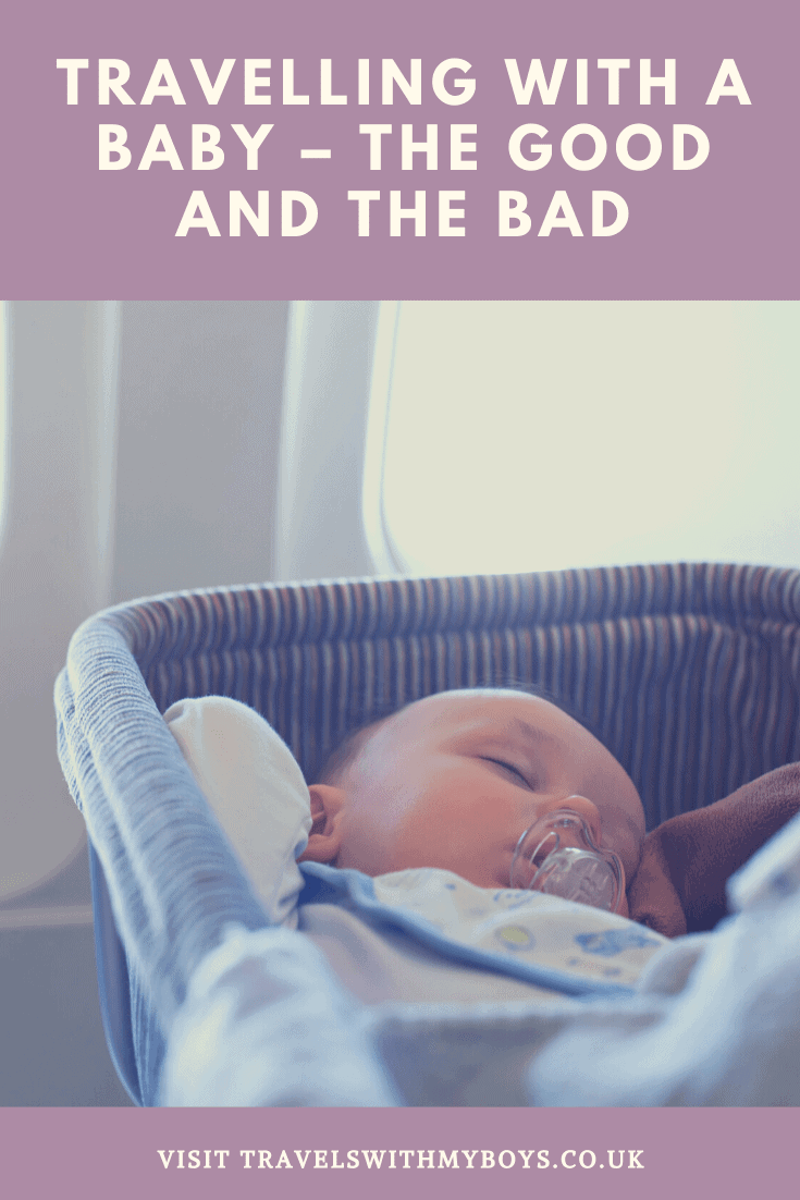 Travelling with a baby the truth