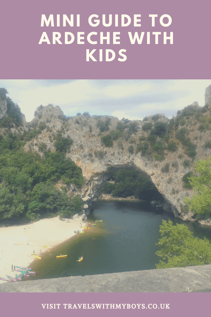 Our Ardeche Mini Guide for Travelling With Kids