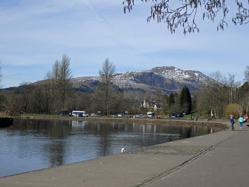 Callander and Ben Ledi