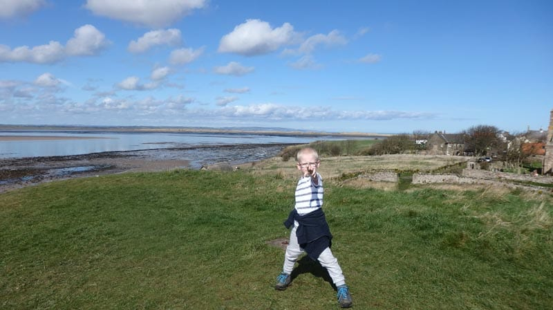 Dunstanburgh Castle, Northumberland – Dog and Child Friendly Day Out