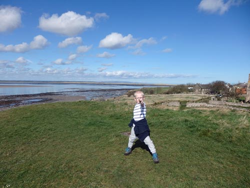Child at Holy Island