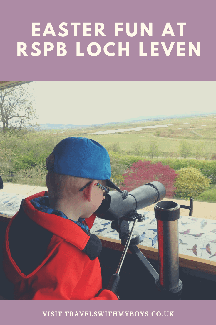 Easter Fun at the RSPB Loch Leven in Scotland