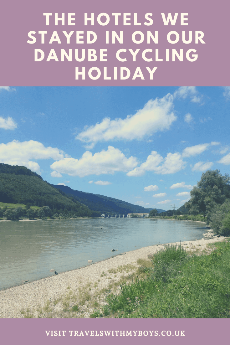 The hotels we stayed in on our family cycling holiday along the river Danube