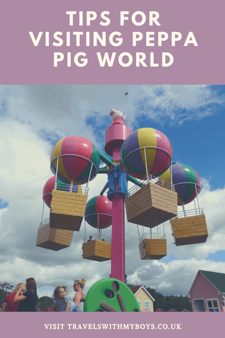Our top tips for visiting Peppa Pig World with a toddler and child. Have fun at Peppa Pig World with your children