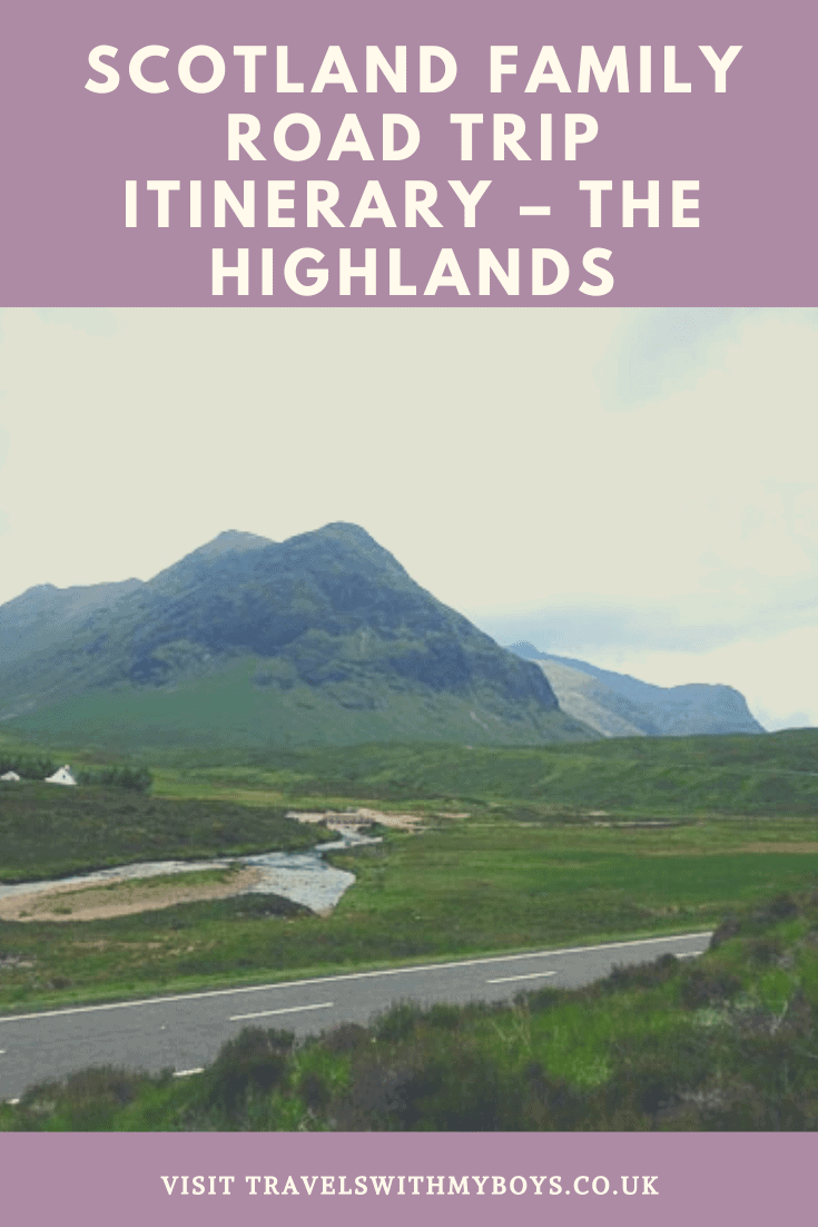 Our 7-14 day Scotland Family Road Trip itinerary. Our ideal road trip itinerary for exploring the Scottish Highlands with our kids