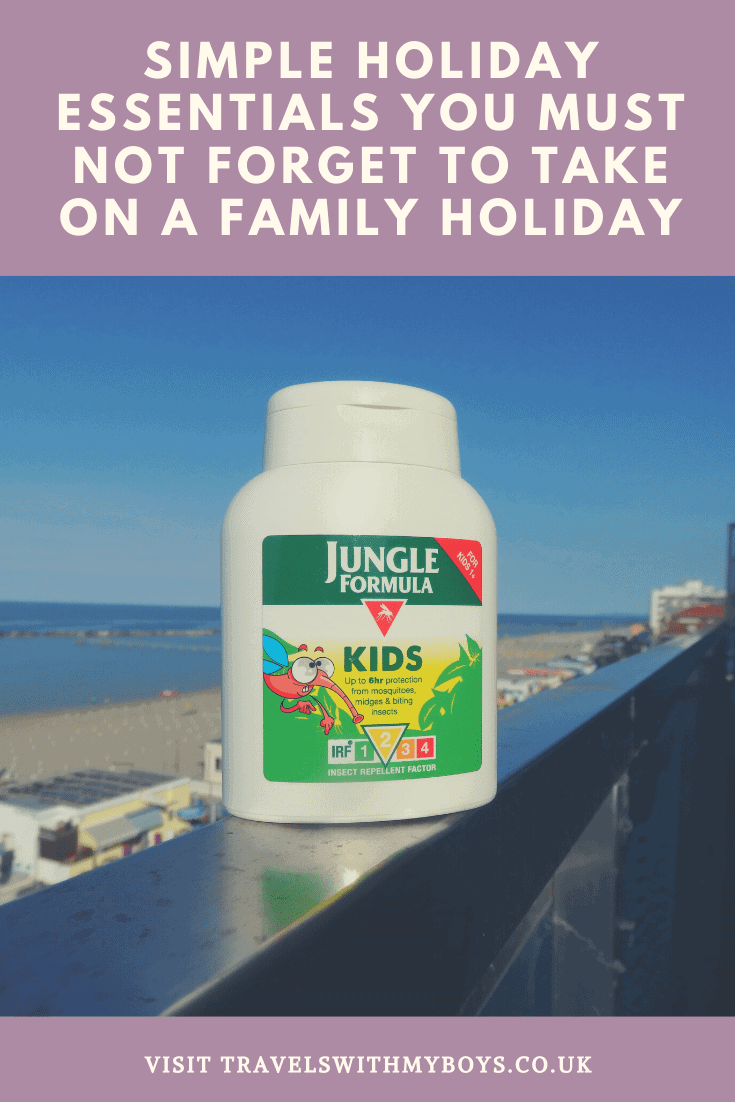 Our top simple holiday essentials that you must not forget on a family holiday