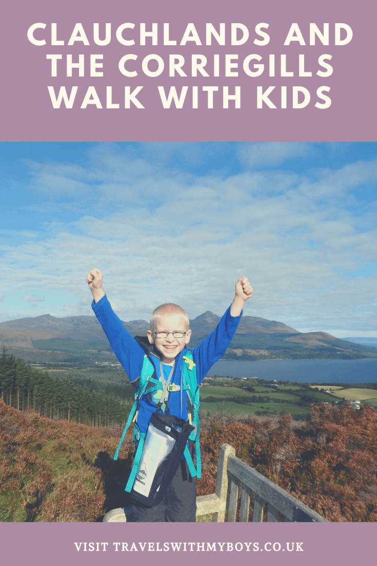 Clauchlands and the Corriegills Walk on Arran With Kids