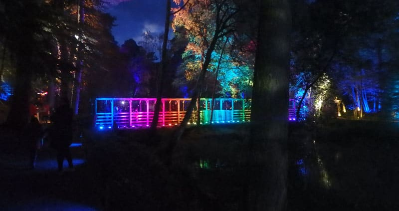 Rainbow Bridge at Enchanted Forest