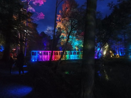 Rainbow Bridge at the Enchanted Forest