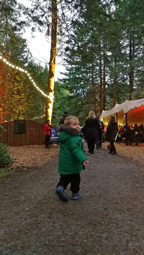 Child at the Enchanted Forest