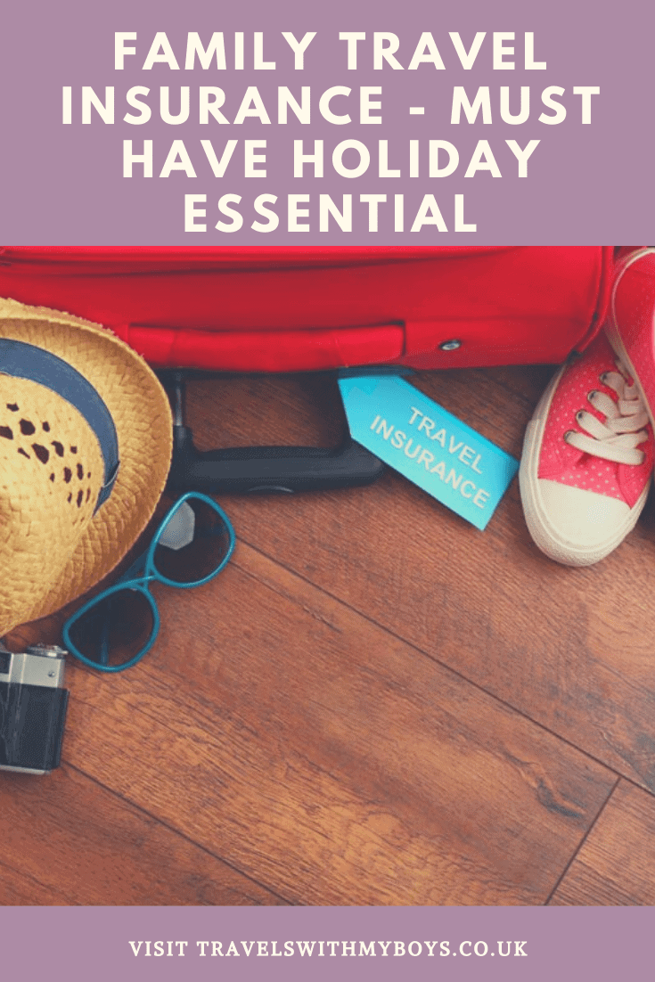 Family travel insurance - a must have travel essentials if you wish to travel with kids