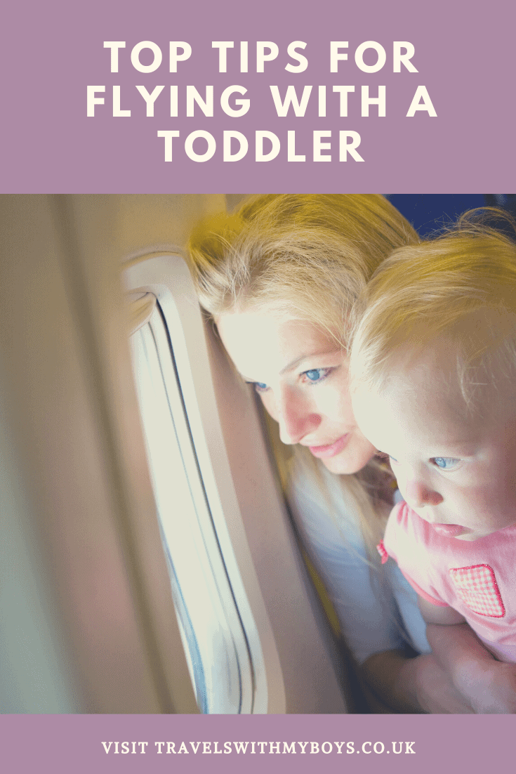 Flying with a toddler soon? Then check out our Top Tips For Flying With A Toddler
